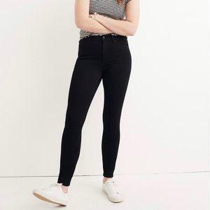 Madewell Black Roadtripper Bennett Skinny Jeans